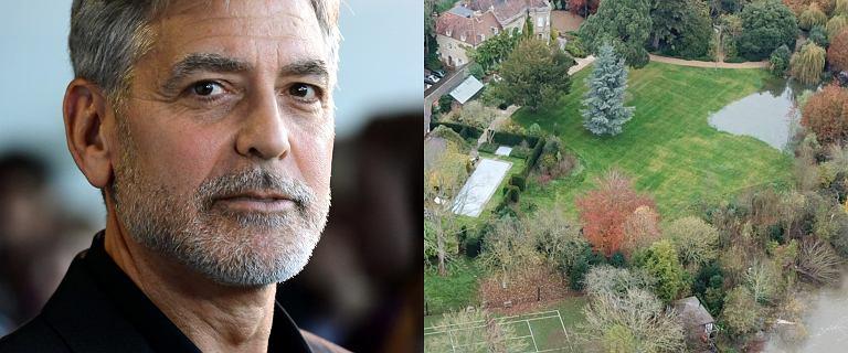 Posiadłość George'a Clooneya zalana. Zdjęcia rezydencji pod wodą robią wrażenie, a ulewy wciąż trwają