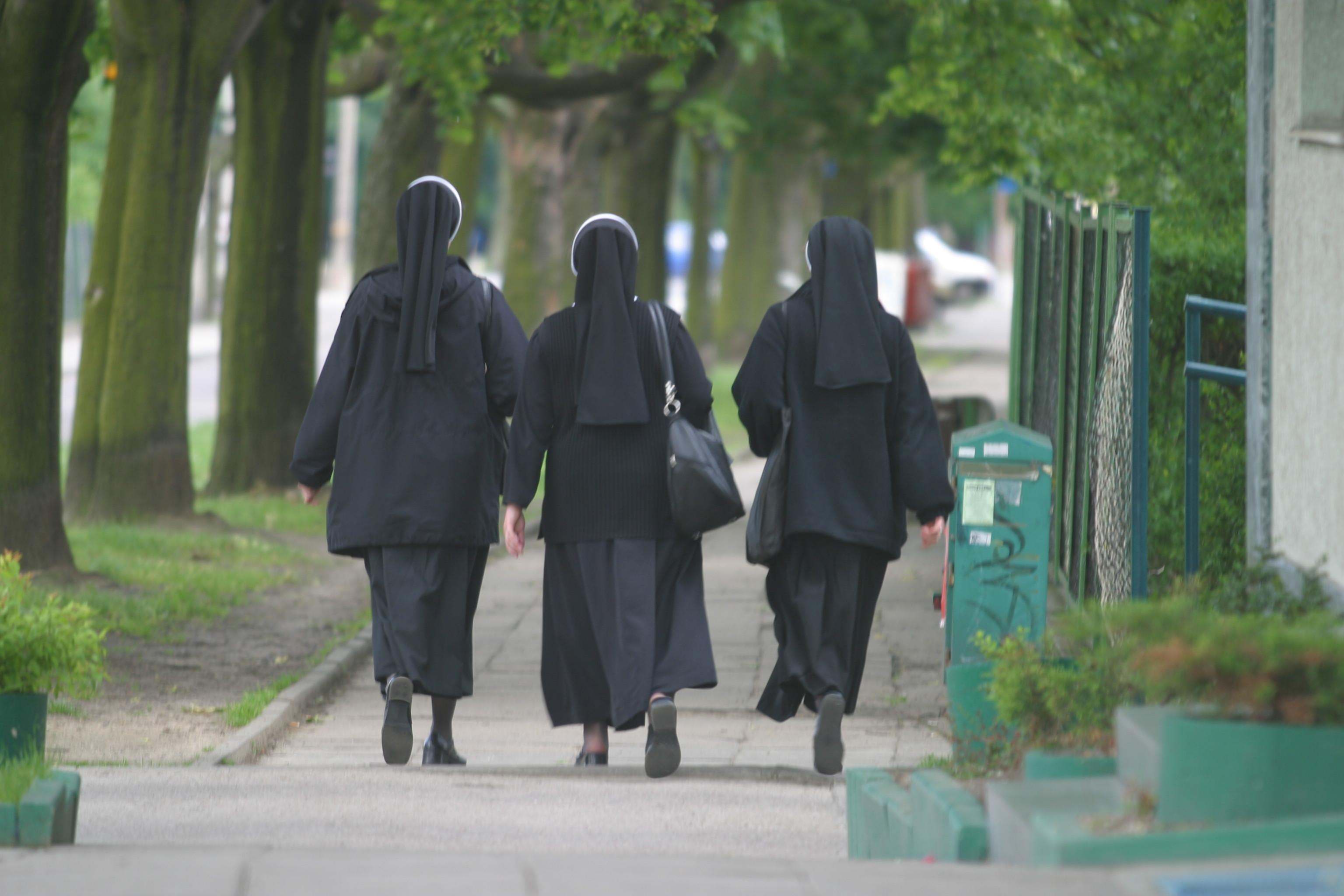 W ciągu ostatniej dekady liczba zakonnic zmniejszyła się aż o 100 tysięcy (fot. Dominik Sadowski / Agencja Gazeta)