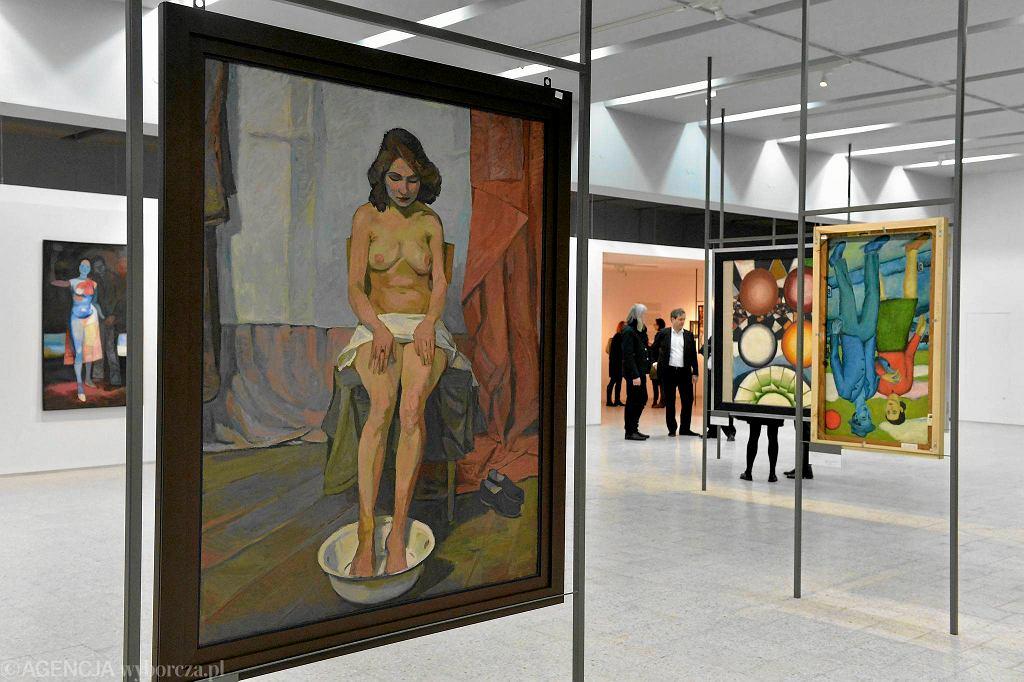 Wystawa Andrzeja Wróblewskiego w Muzeum Sztuki Nowoczesnej w Warszawie, 2015 r. / WALDEMAR GORLEWSKI