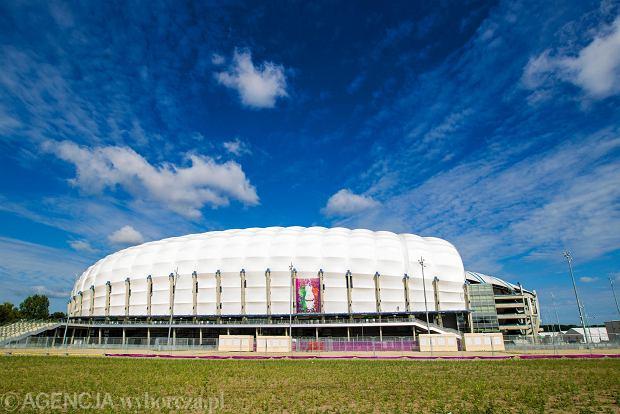 Zbudowany na Euro 2012 stadion przy ul. Bułgarskiej, największa inwestycja w Poznaniu w ciągu ostatnich 30 lat.
