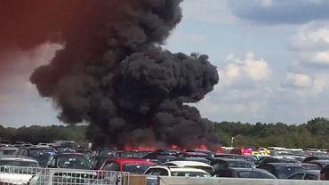 Katastrofa lotnicza w Wielkiej Brytanii