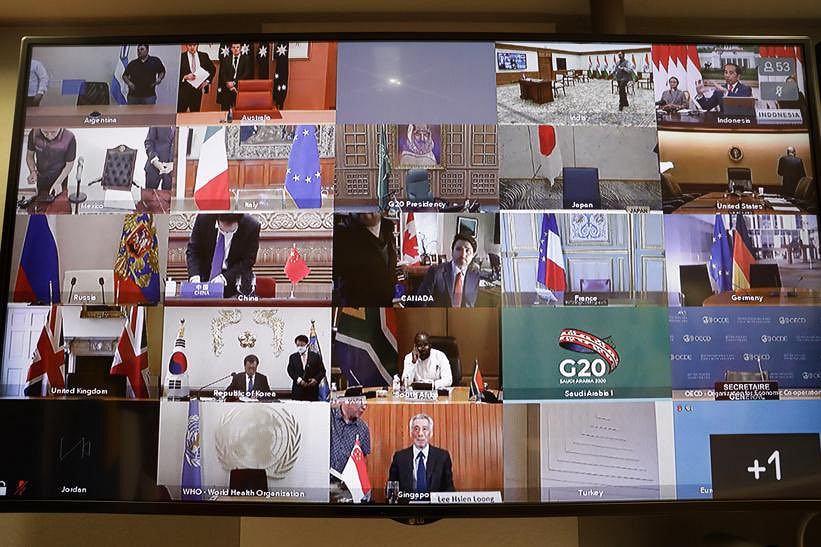 Państwa G20 przekażą pięć bilionów dolarów na walkę z pandemią koronawirusa