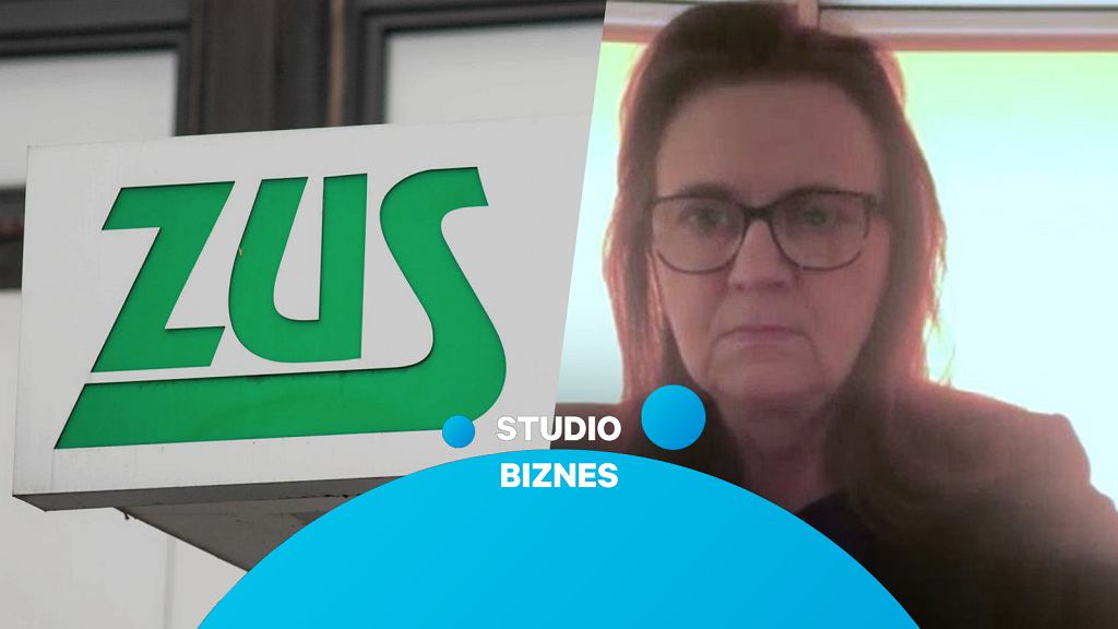 Gertruda Ucińska, prezes ZUS, gościem programu 'Studio Biznes'
