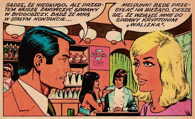'Kapitan Żbik' - plansza z komiksu