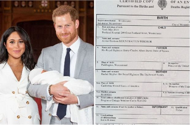 W zagranicznych mediach pojawił się certyfikat narodzin Archiego. Niby to tylko dokument, ale kiedy chodzi o dziecko Meghan i Harry'ego, nic nie jest nieważne. Zwłaszcza, że ta kartka papieru może rozwiać wiele wątpliwości.