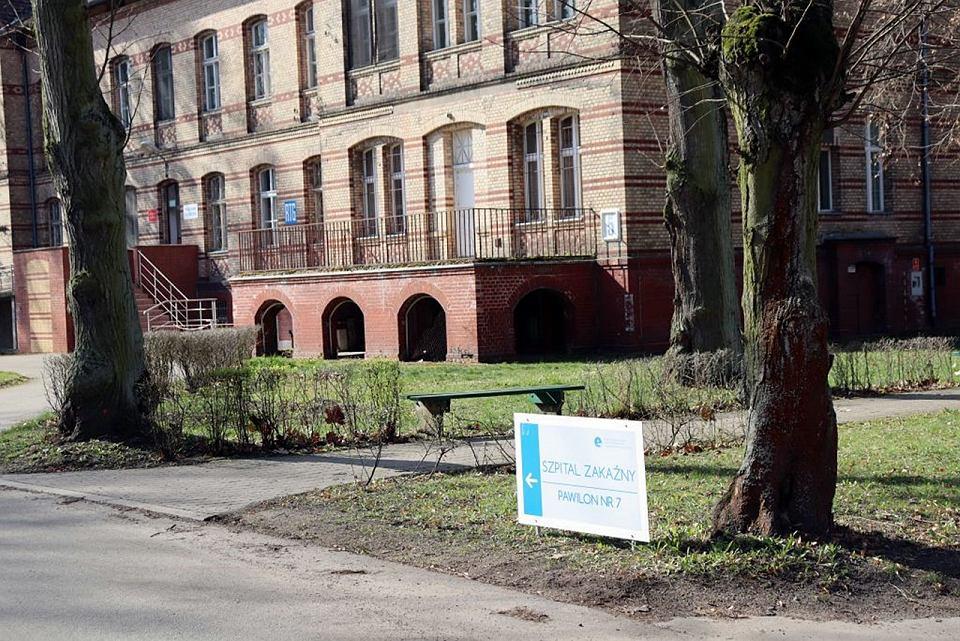 Wielospecjalistyczny Szpital Wojewódzki w Gorzowie, szpital zakaźny
