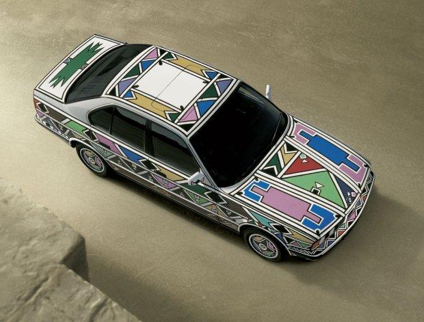BMW 525i Art Car