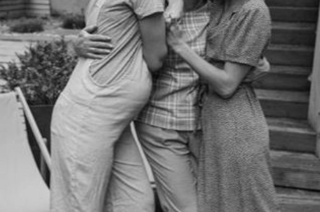 Monika Jagaciak z mamą i siostrą