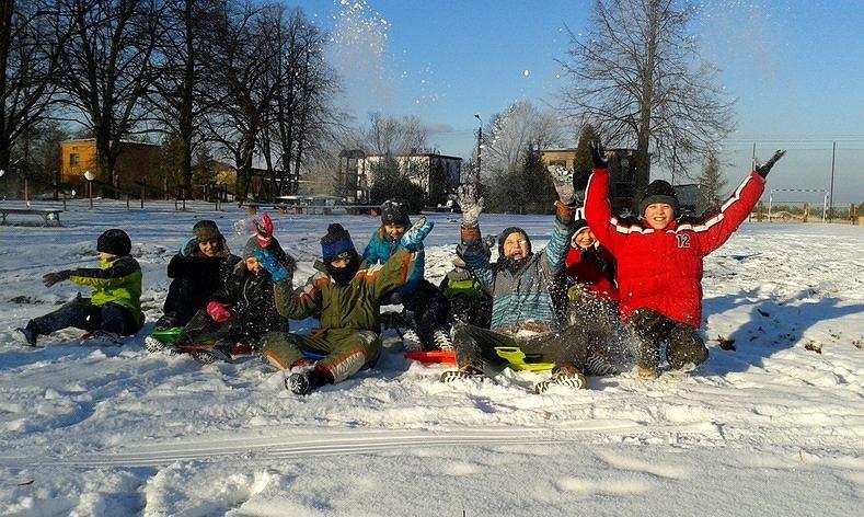 Zimowe zabawy - WF z Klasą