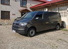 Opinie Moto.pl: Volkswagen Transporter 6.1 Furgon. Patrz, ile mam miejsca