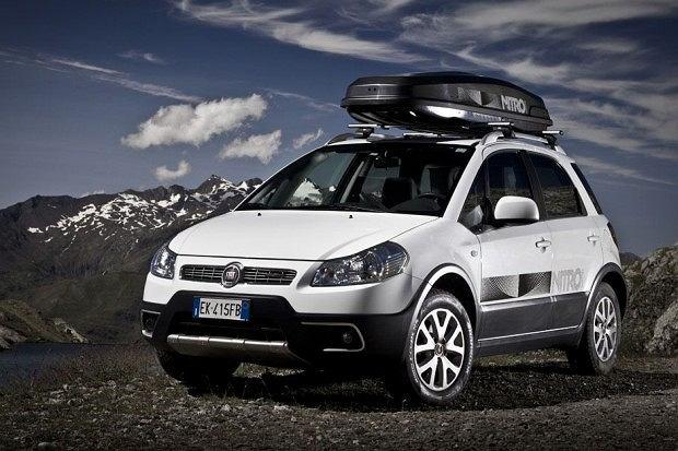 Fiat Sedici Nitro (fot. Fiat)