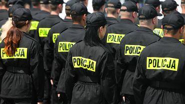 Ogólnopolski protest policji(zdj. ilustracyjne)