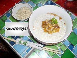 Lekki ryż z mango w mleczku kokosowym