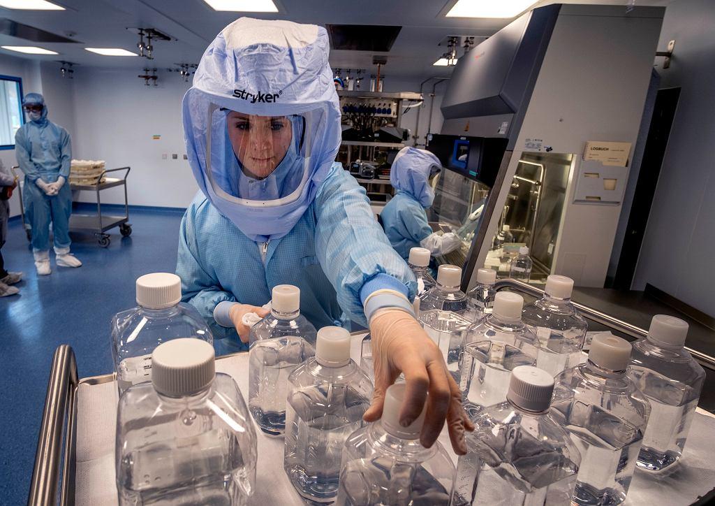 Produkcja szczepionki Pfizera i BioNTech