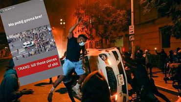 Żona piłkarza LA Galaxy publikowała rasistowskie komentarze o protestujących w sprawie George'a Floyda
