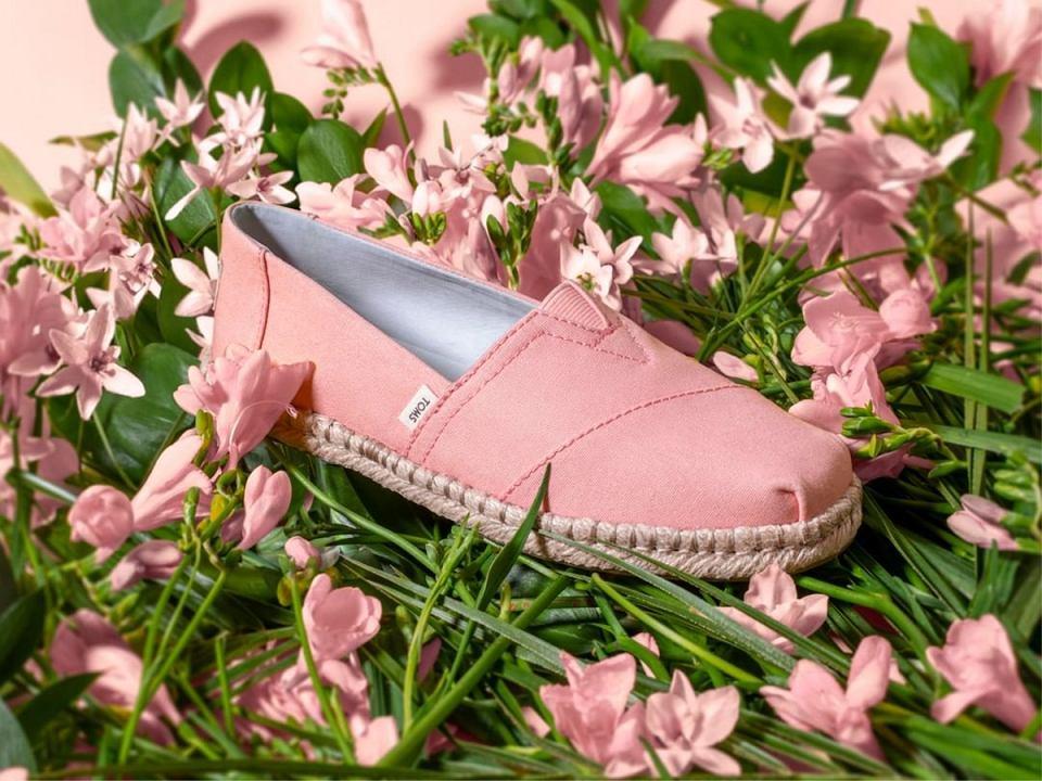gładkie buty Toms