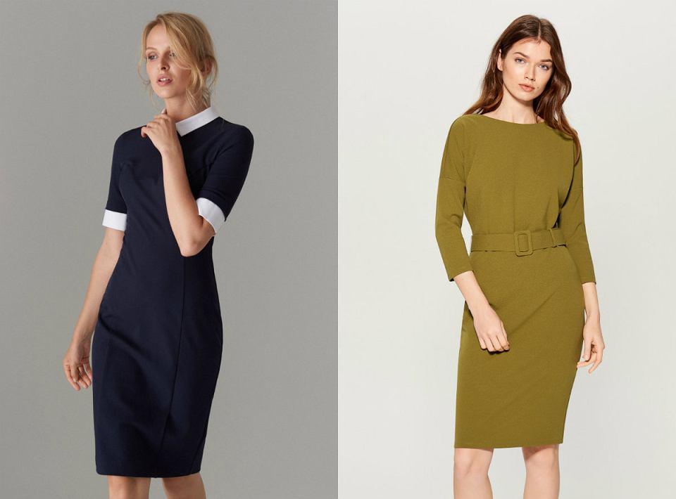 Eleganckie sukienki ołówkowe Mohito - idealne do pracy
