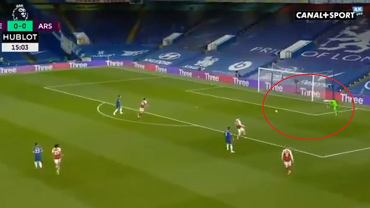 Absurdalny gol w meczu Chelsea - Arsenal