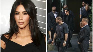 Kim Kardashian/ Ochrona Kim Kardashian po wydarzeniach w Paryżu