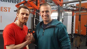 Mariusz Czerkawski i Rafał Tkacz