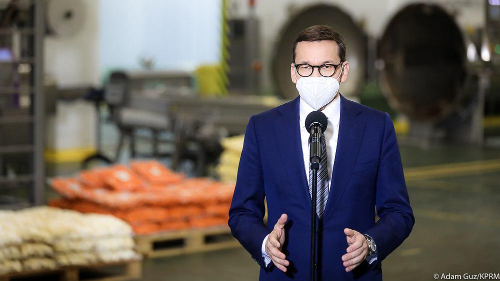 Premier Mateusz Morawiecki / 21.05