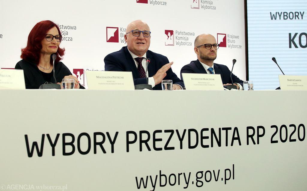 EKonferencja PKW na temat frekwencji wyborczej i przebiegu glosowania