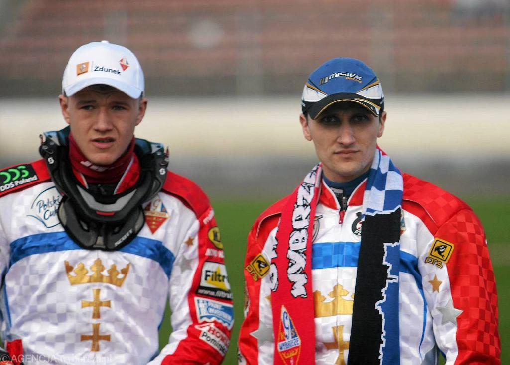 Robert Miśkowiak (z prawej)