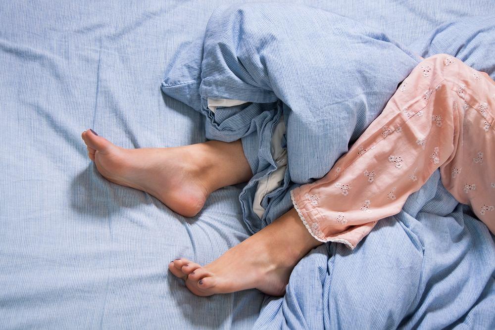 Spanie pod kołdrą jest dla nas czymś w rodzaju rytuału.