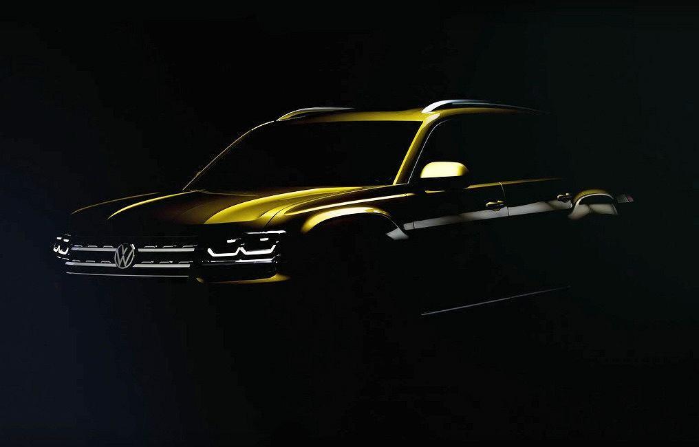 Volkswagen Atlas (teaser)