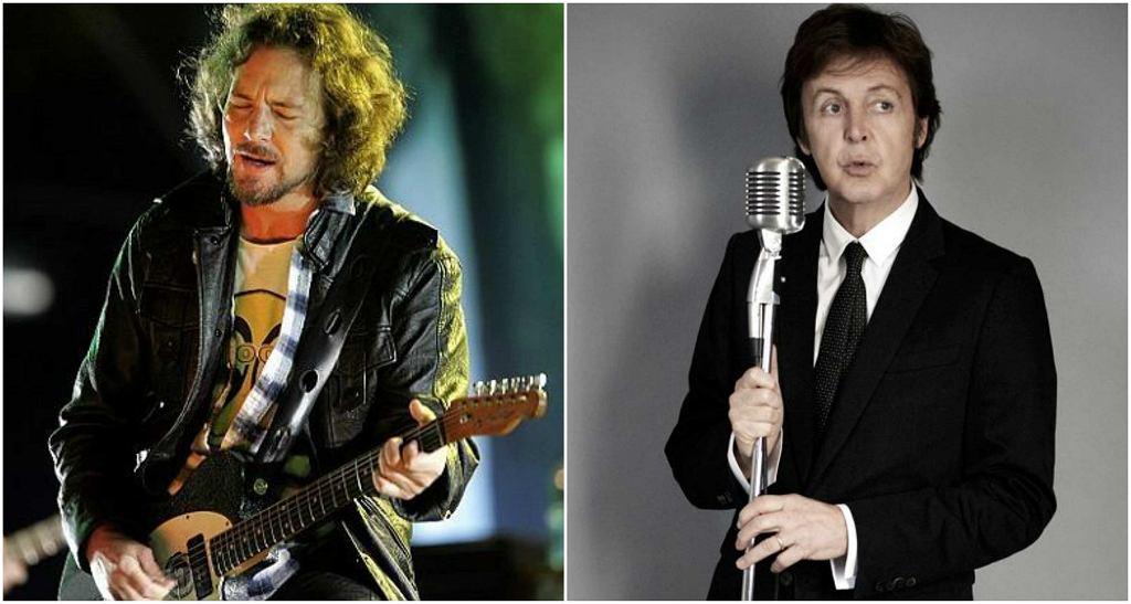 Eddie Vedder i Paul McCartney