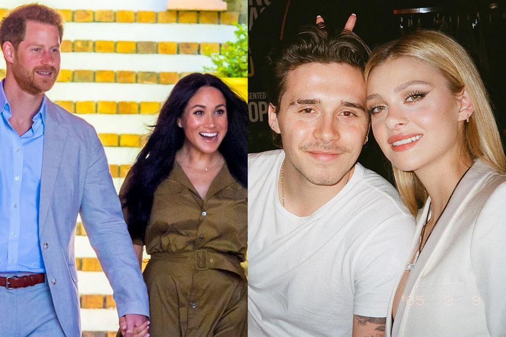 Meghan Markle i książę Harry zaproszeni na ślub Beckhama
