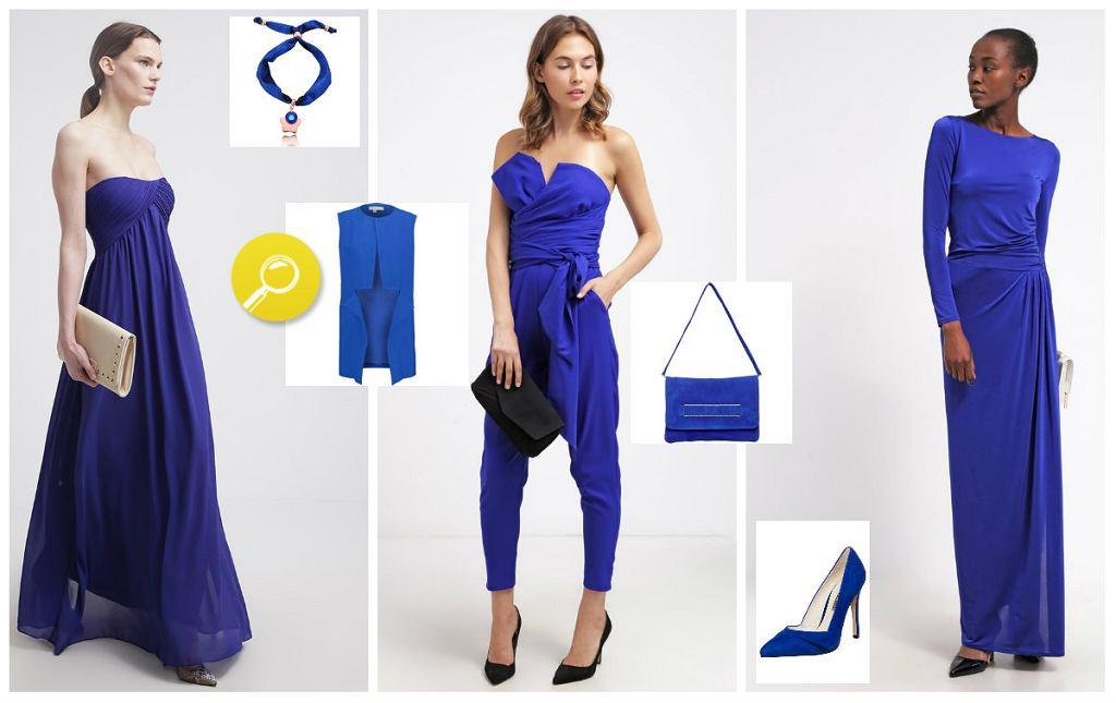 Kobaltowe ubrania i dodatki - wielki przegląd