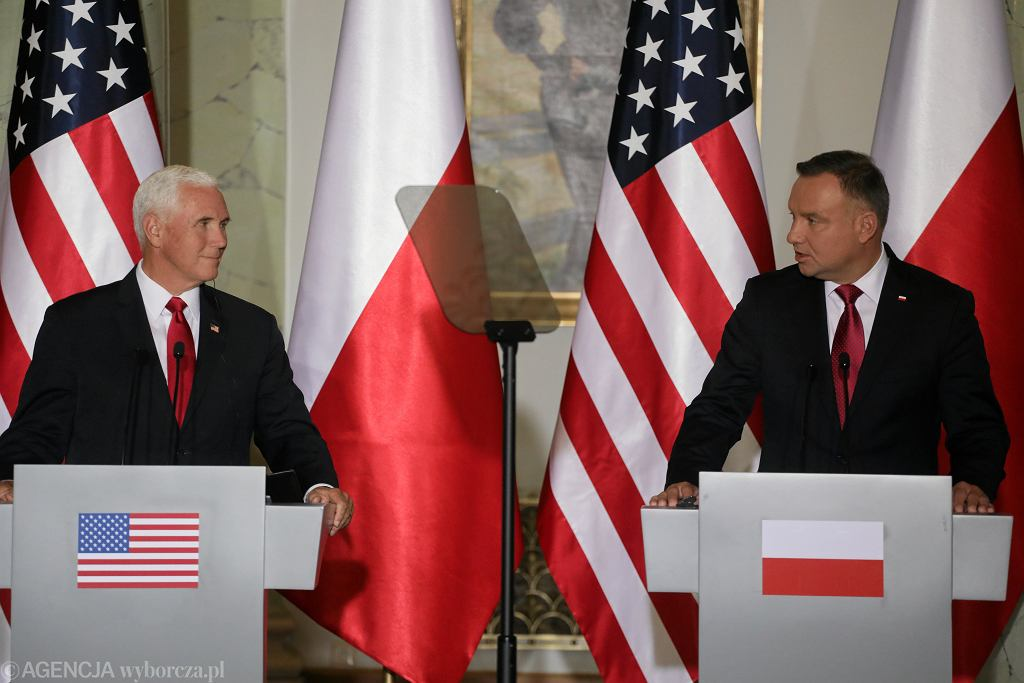 Mike Pence w Polsce