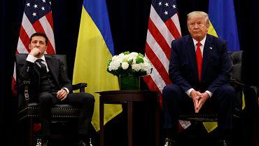 Donald Trump i Wołodymyr Zełenski