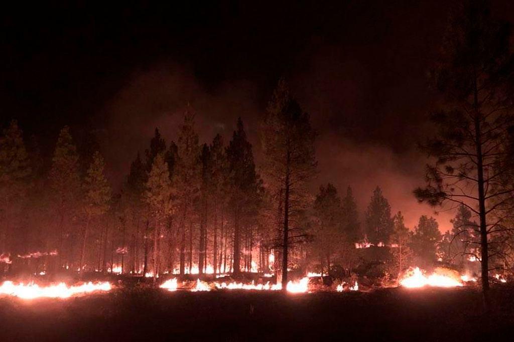 Pożary w stanie Oregon