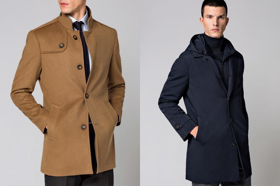 Płaszcze męskie z wyprzedaży