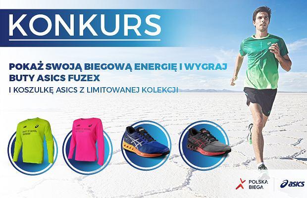 Pokaż swoją biegową energię i wygraj buty ASICS fuzeX
