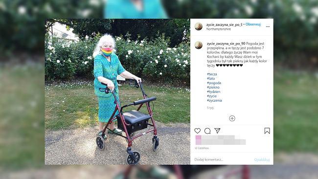 """93-letnia Polka robi furorę na Instagramie. """"Życie zaczyna się po 90-tce"""""""