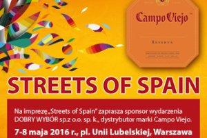 Druga edycja festiwalu kultury hiszpańskiej Streets of Spain już w maju w Warszawie!
