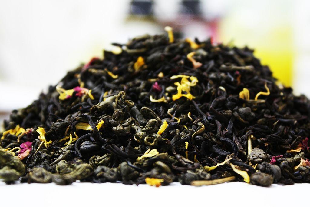 Liście herbaty Zdjęcie ilustracyjne