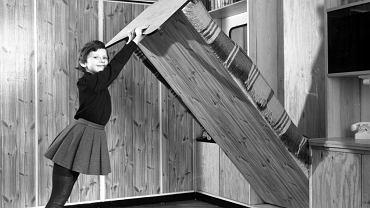 Pokój z meblościanką z 1963 r.