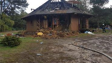 Pożar rodzinnego domu dziecka w Krakowie