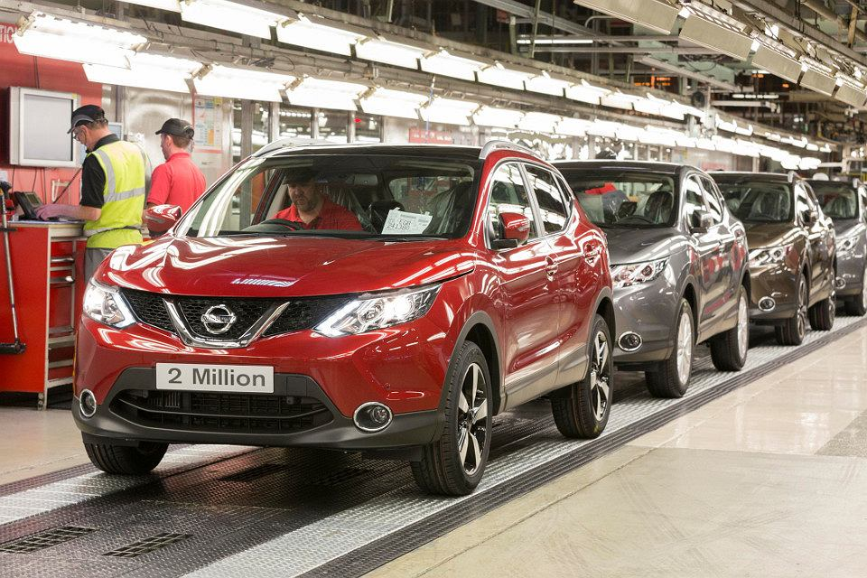 Produkcja Nissana Qashqai