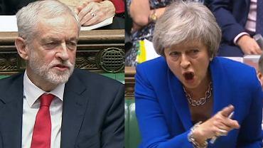 Jeremy Corbyn i Theresa May