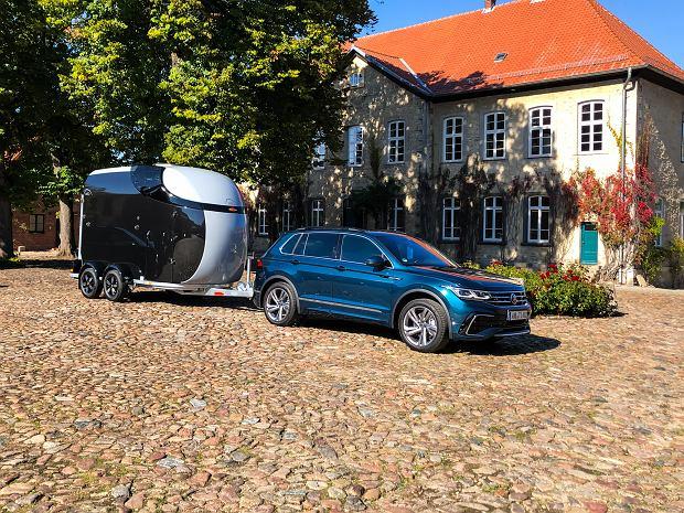 Volkswagen Tiguan trailer assist