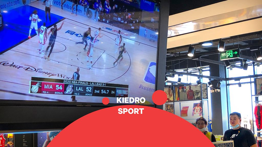 Pierwsza od roku transmisja koszykówki w Chinach