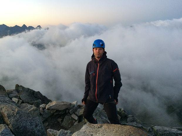 Górskie wyzwanie w szczytnym celu. W ten sposób pomógł sportowcowi