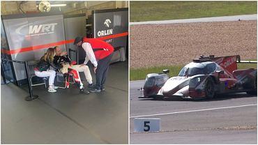 Robert Kubica po wyścigu Le Mans 24h, Yifei Ye zatrzymuje samochód na torze