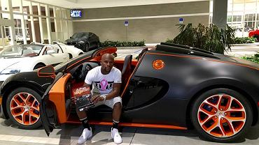 Nowe Bugatti Floyda Mayweathera