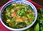 Caldo verde (zielona zupa) - Zdjęcia